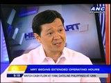 MRT starts extended operating hours