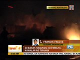 Fire razes 30 homes in Muntinlupa