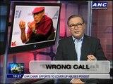 Teditorial: Wrong call