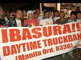 Manila truck strike ends
