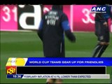 World Cup teams gear up for friendlies