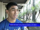Eddiva returns to PH after successful UFC debut