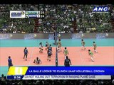La Salle looks to clinch UAAP volleyball title
