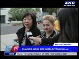 Charice holds first solo concert in US