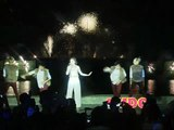 WATCH: Sarah G sings at fireworks contest