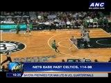 Nets ease past Celtics