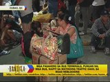 Passengers stranded at bus terminals amid heavy traffic