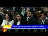 Prosecutor: Pistorius 'using emotions as an escape'