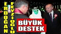Feyzioğlu Erdoğanla Külliyede Kim Ne Derse Desin BEN SENİNLEYİM
