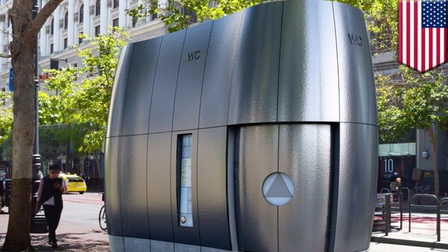Futuristic high-tech public toilets planned for San Francisco
