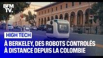 À Berkeley, les robots-livreurs sont contrôlés à distance par des employés colombiens