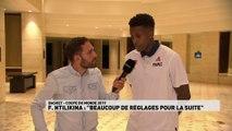 """Frank Ntilikina : """"Beaucoup de réglages pour la suite"""""""