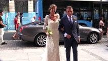 El vestido de novia de Nerea Ruano en su boda con el chef Paco Roncero