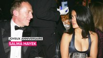 Salma Hayek refuse de dépendre de son mari milliardaire
