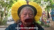 """""""Comment allons-nous respirer ?"""" : Le message de Raoni pour la forêt amazonienne"""