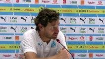 Conférence de presse d'André Villas Boas après la victoire de l'OM face à Saint-Étienne.