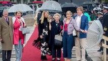 PHOTOS. Rencontre complice et élégante entre les reines Maxima des Pays-Bas et Mathilde de Belgique