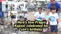Here's how Pragya Kapoor celebrated her son's birthday