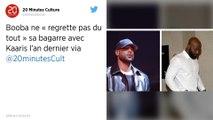 «Je regrette pas du tout»: Booba revient sur sa bagarre avec Kaaris à Orly
