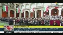 Ofrece presidente de México informe de gobierno