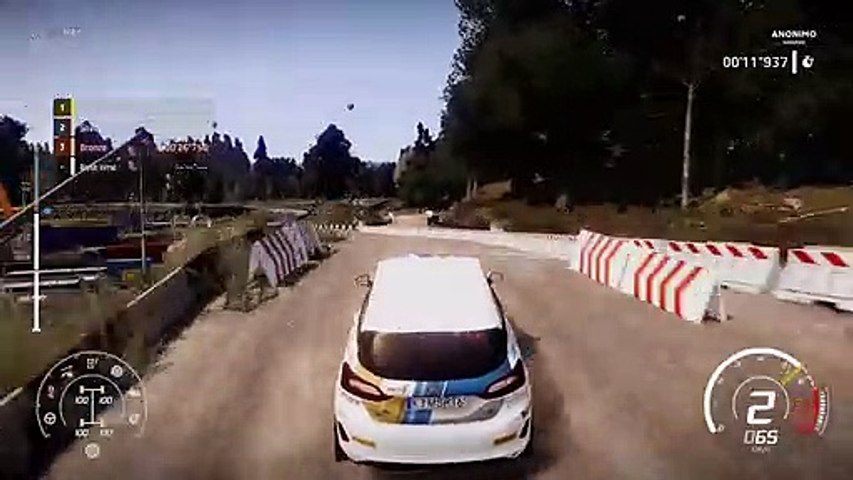 WRC 8 Career Mode 2nd Training Session - Official Gameplay