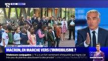 Emmanuel Macron: en marche vers l'immobilisme ?