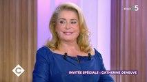Invitée spéciale : Catherine Deneuve ! - C à Vous - 02/09/2019