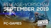 Games-Release-Vorschau - September  2019 - PC
