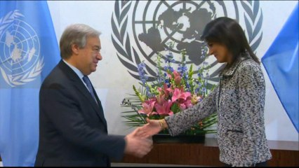 New US ambassador to UN yet to take up position