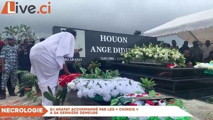 Dj Arafat accompagné par les « Chinois » à sa dernière demeure