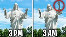 Top 5 Scary Statues CAUGHT MOVING ON CAMERA-