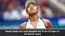 Osaka out of US Open