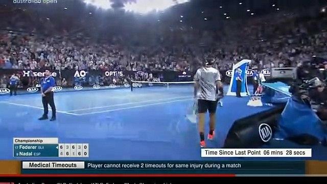 Australian Open 2017 Men's Final  - Roger Federer vs Rafa Nadal - 5.Set