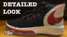 Nike Alphadunk Metallic Silver Red Orbit  Basketball Sneaker Detailed Look