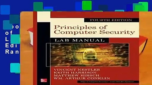 About For Books  Principles of Computer Security Lab Manual, Fourth Edition  Best Sellers Rank : #3