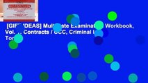 [GIFT IDEAS] Multistate Examination Workbook, Vol. 1: Contracts / UCC, Criminal Law, Torts,