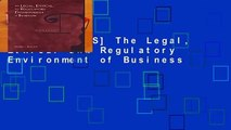 [GIFT IDEAS] The Legal, Ethical and Regulatory Environment of Business