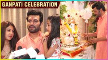 Sharad Kelkar With Wife Keerti Celebrating Ganpati & Talks About His Upcoming Films HouseFull 4