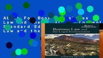 About For Books  Business Law and the Legal Environment, Standard Edition (Business Law and the