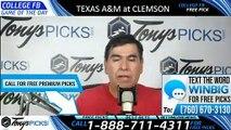 Texas Am Clemson College Football Pick 9/7/2019