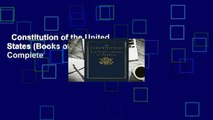 Constitution of the United States (Books of American Wisdom) Complete