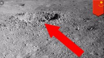 China's lunar rover finds weird substance on moon's far side
