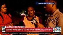 L'ouragan Dorian a fait plusieurs morts en passant sur les Bahamas: Les images impressionnantes de la nuit et des destructionss