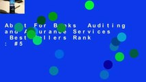 About For Books  Auditing and Assurance Services  Best Sellers Rank : #5
