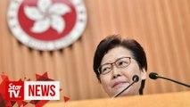 Hong Kong leader says has never tendered resignation to Beijing