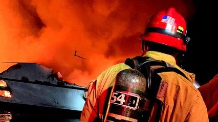 California boat fire: 8 dead, dozens missing in US