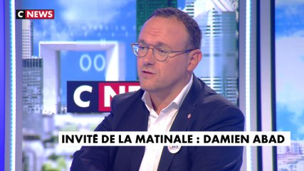 Damien Abad - CNews mardi 3 septembre 2019