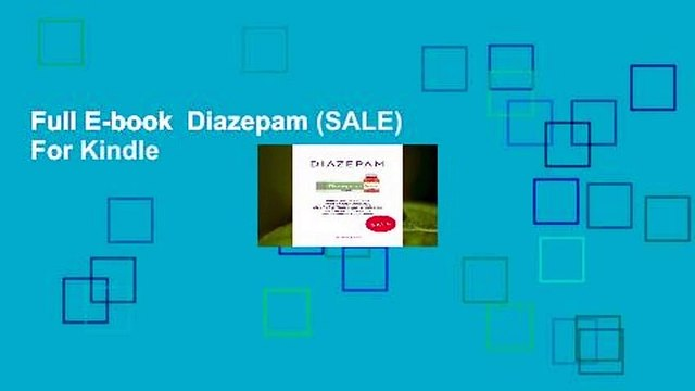 Full E-book  Diazepam (SALE)  For Kindle