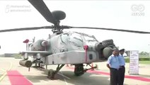 Eight Boeing Apache Helicopters Join IAF Fleet