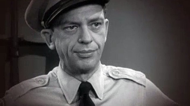 The Andy Griffith Show S02E12 Sheriff Barney